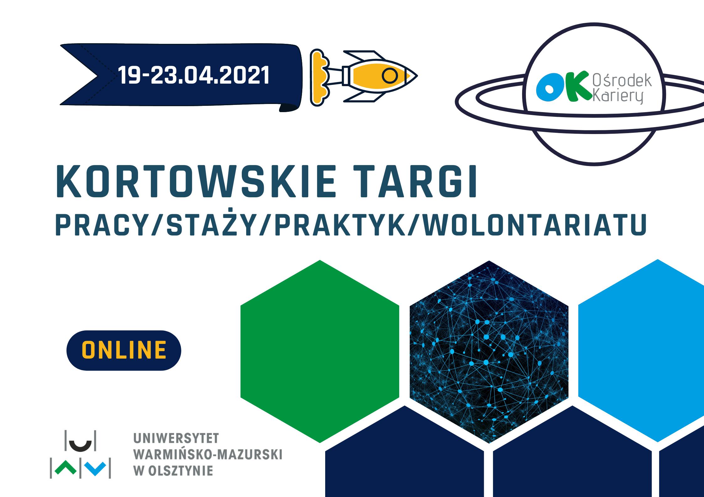 Plakat Kortowskich Targów.